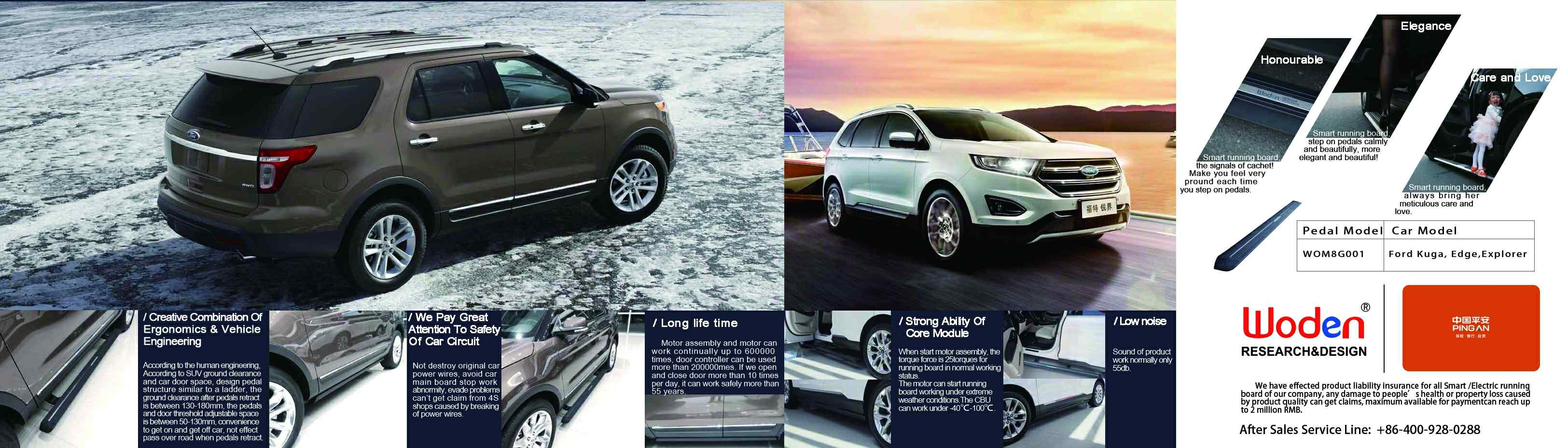Ford Edge Electric Steps