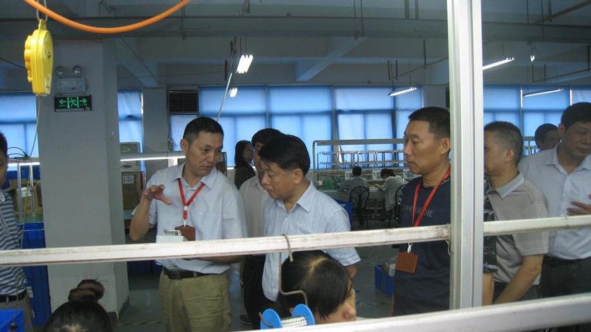 Secretary of Hanyang District Visited Radarking to Make Investigation