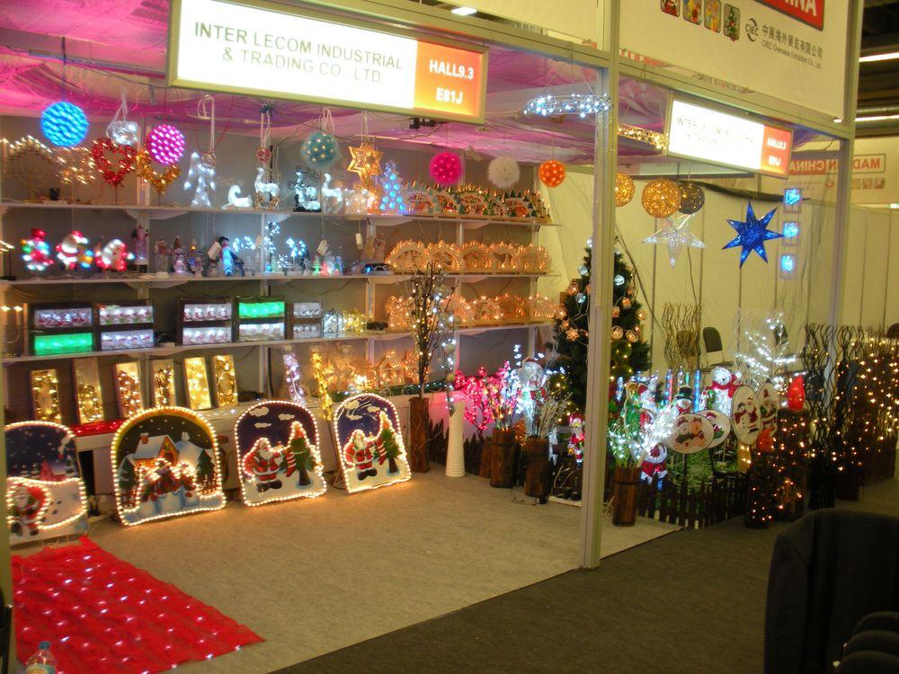 Christmasworld Fair in Frankfurt 2014