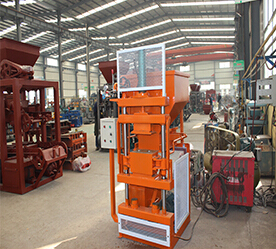 SY1-10 clay interlocking brick machine