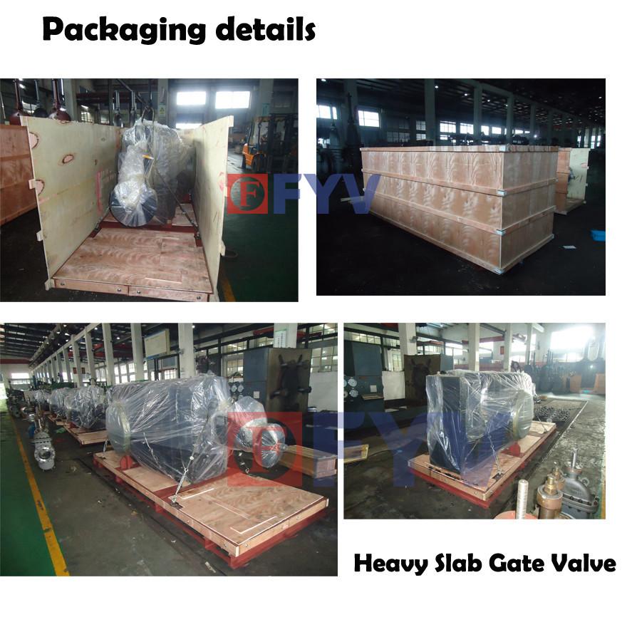 Packaging for heavy valves