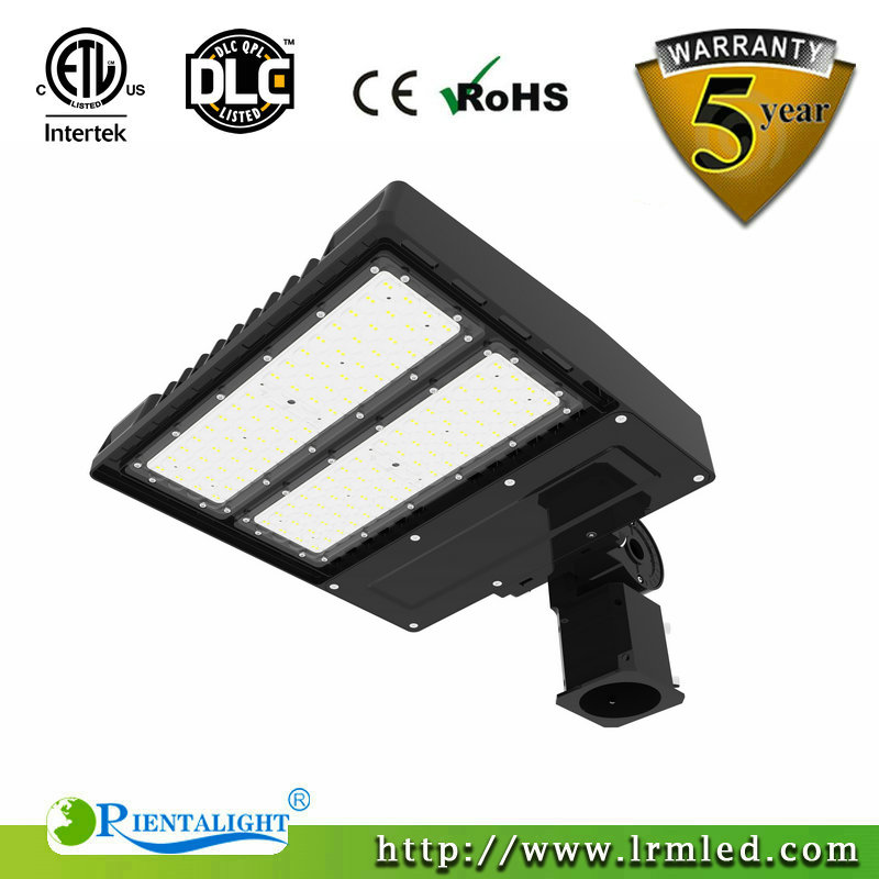 ETL DLC QPL Listed LED Area Parking Lot Pole Light Fixture LED Shoebox