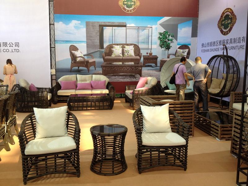 June 2012 Hotel furniture Fair showing in GZ