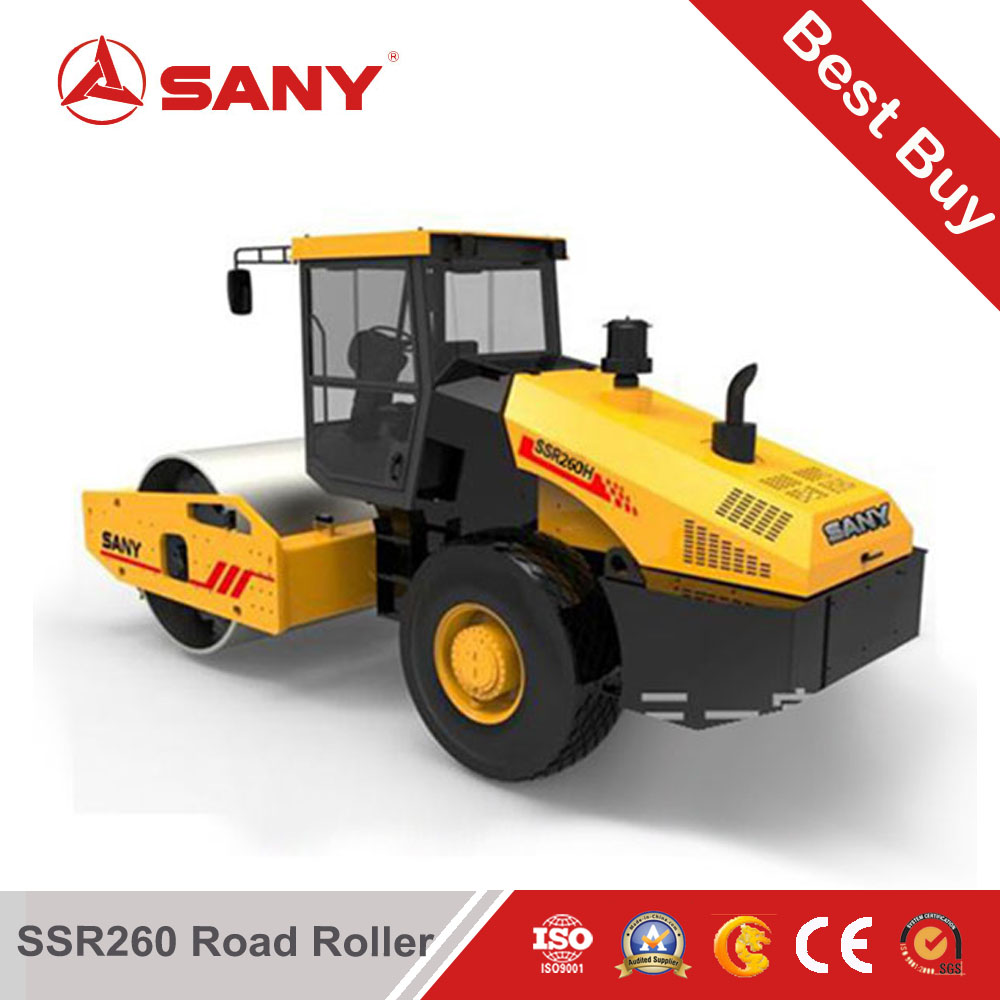SANY SSR260 26 tons single drum roller