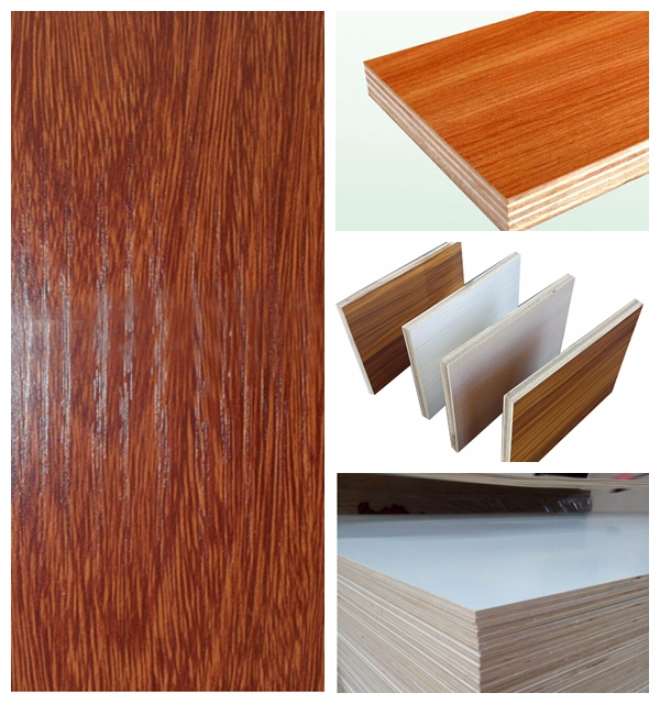 Melamine plywood / Commercial plywood,plywood with melamine paper