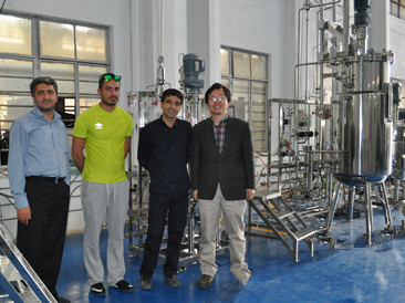 Iran user acceptance 500L stainless steel fermenters