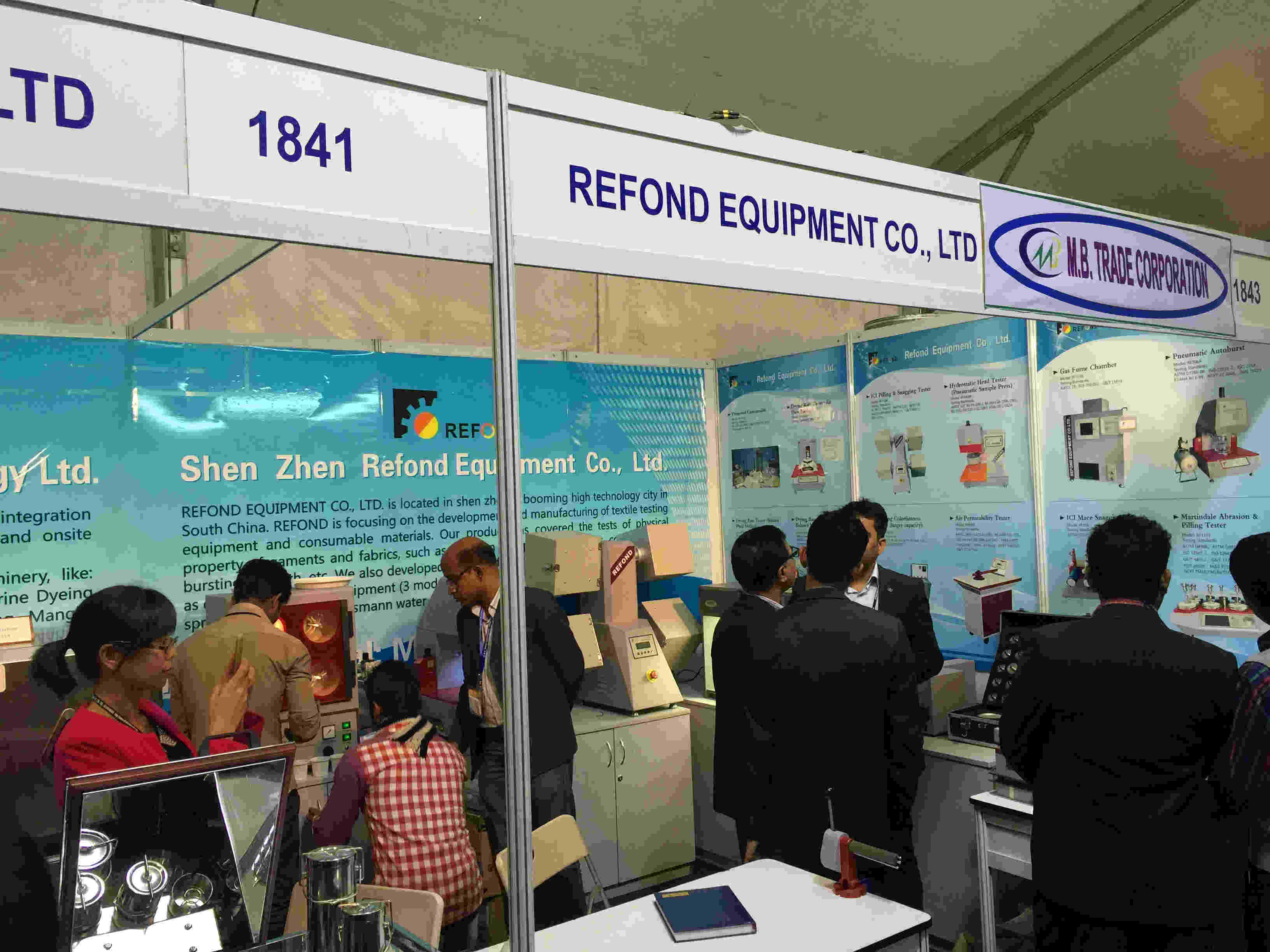 we have attended the Exhibition in Bangladesh