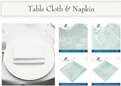 Tablecloth & Napkin