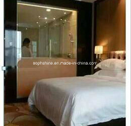 Motorized Cellular Shades between glasses