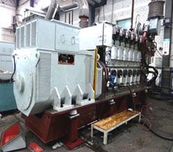 MAN 6L 21/31 diesel generator