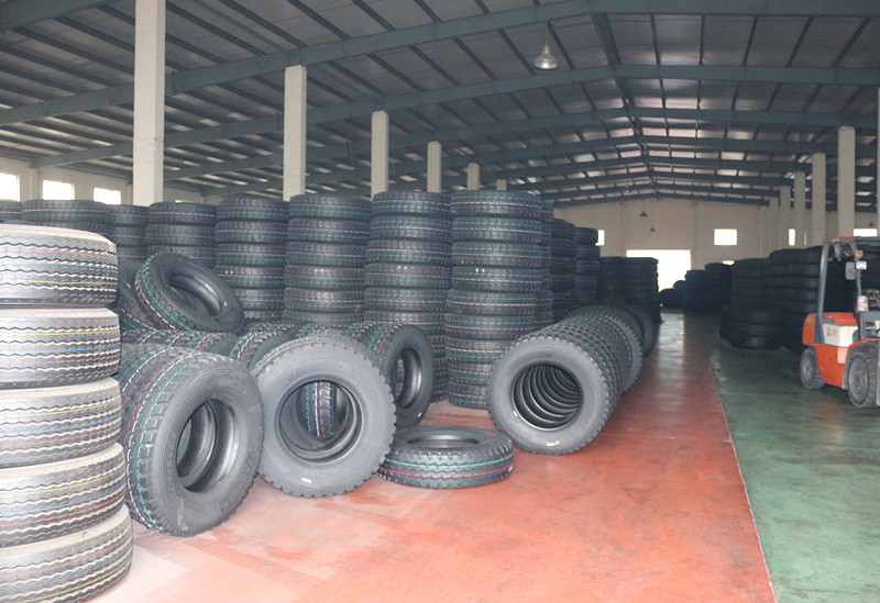 our radial truck tire warehouse