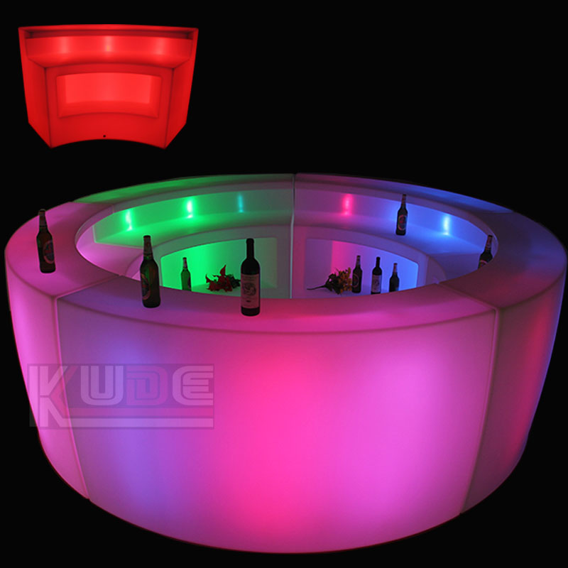led bar counter color change with remote control