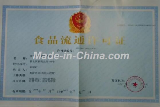 Food Circulation Permit License