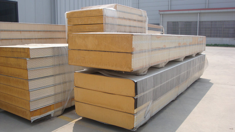 Sandwich Panels In Our Factory