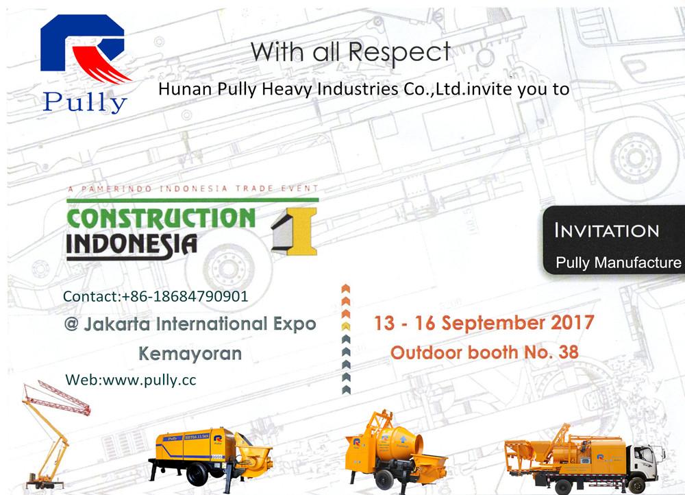 CONSTRUCTION INDONESIA 2017 Invitation