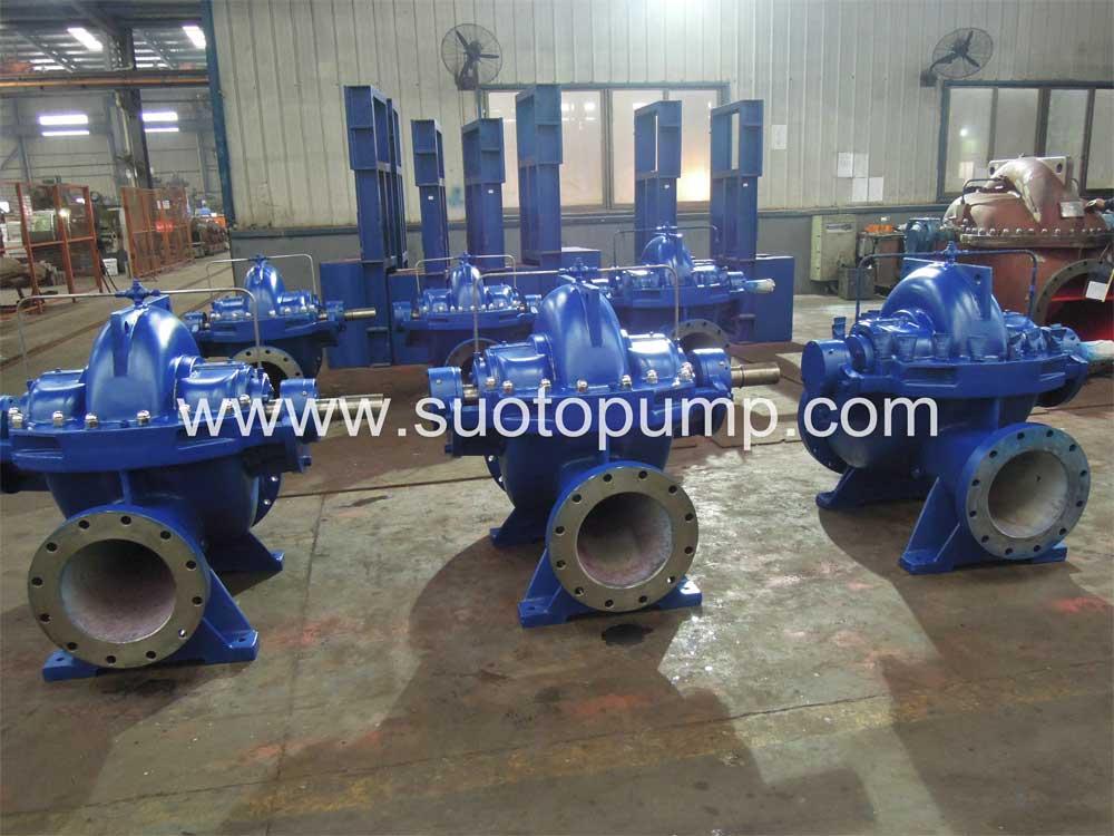 Single Stage Double Suction Split Case(Casing) Pump