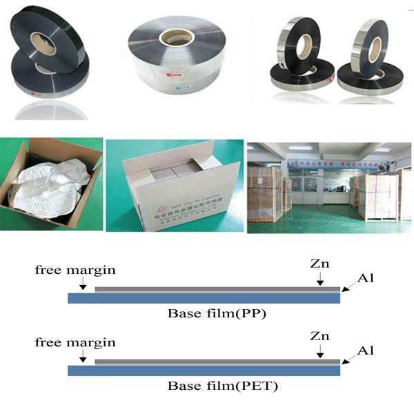 Al-Zn Metallized polyester & Polypropylene film