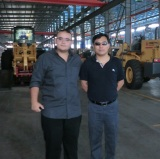 Customers Visiting-Wheel Loaders