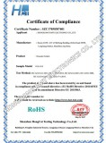 RoHS Certificate for Encoder Switch ES-1513
