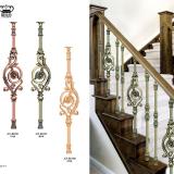 Aluminum Stair Handrail Balustrade
