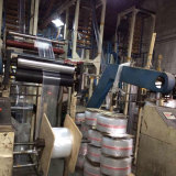 zip lock film blowing machine installed in customer′s plant