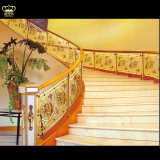 Luxury Villa Aluminum Stair Railing