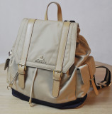 Fashion Ladies′ Nylon and Leather Backpack