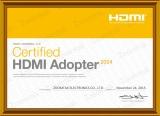 Zoomtak HDMI certificate 2015