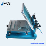 Manual PCB screen printer machine for red glue printing