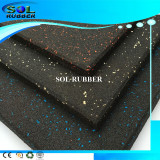 Heavy dudty High density Gym Rubber Flooring