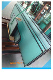 acid etched insulated tempered glass