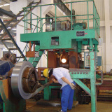 Continuous Rolling System of Plate Materials