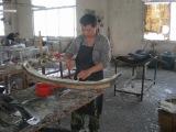 FRP fiberglass products workshop