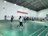 2017.7 chanta Mixed badminton doubles