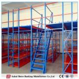 Adjustable Work Platform, Metal Adjustable Shelf China Storage Mezzanine