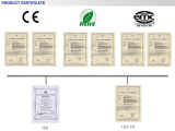 LED CE&ROHS Certification