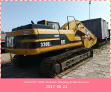 Used CAT 330BL Excavator Shipping to Burkina Faso