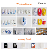 Wireless Mouse and Memory Card