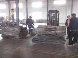 rubber airbags ready to be shipped to Qingdao port