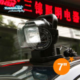 360° Remote Control with Magnet Base HID Search Light Work Lamp SM2009