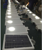 8W All in One Solar Street Light Test in Workshop