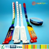 CMYK printing Disposable RFID NFC wristband