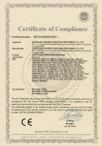SINOWON CE Certificate of Coordinate Measuring Machine