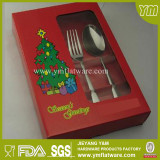 High Quality Christmas Stainless Steel Cutlery Set
