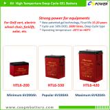 CSPOWER HTL series 12V High Temperature Deep Cycle GEL Battery upto 6V420Ah