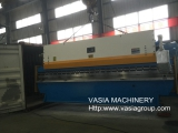 6 Meters Three Cylinders Press Brake Exported to India.