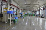 Injection molding production workshop