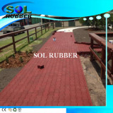High density heavy duty horse floor rubber paver