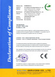 CE Certificate of UNDERGROUND LIGHT