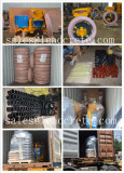 Deliver gunite machine and spare part to Qatar